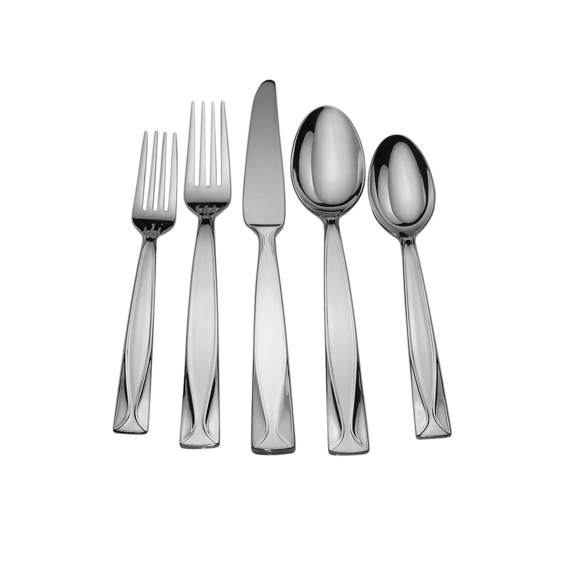 David Shaw Silverware Splendide Fold 20 Piece Flatware Set Wayfair