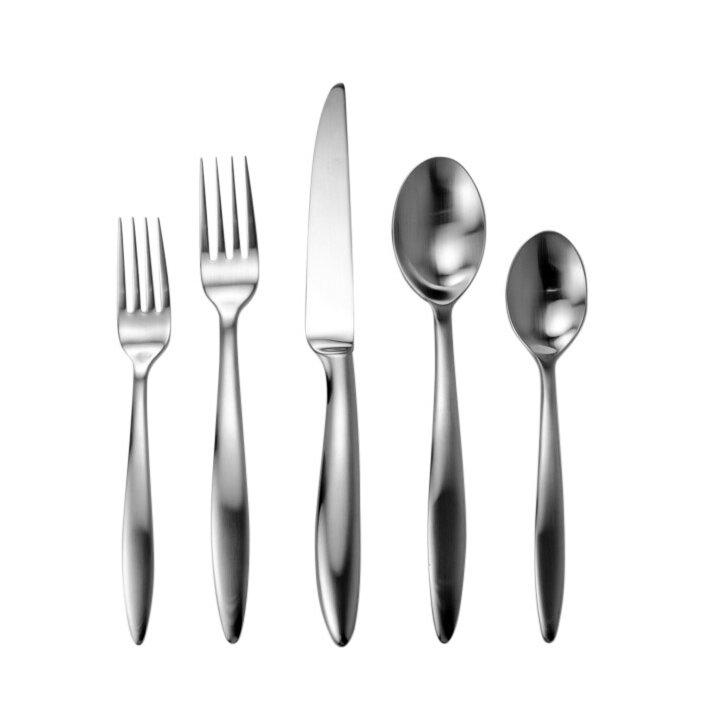 David shaw silverware splendide mandra 20 piece flatware set wayfair - Splendide flatware ...