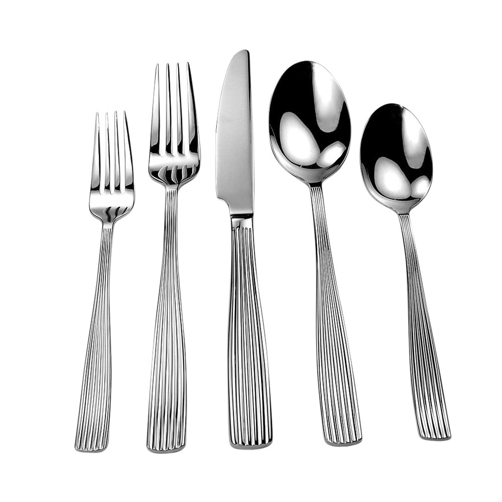 David shaw silverware splendide melrose 20 piece flatware set reviews wayfair - Splendide flatware ...