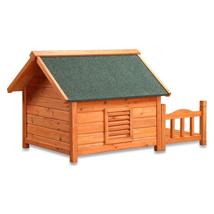 pet squeak porch pups dog house reviews wayfair With pet squeak porch pups dog house