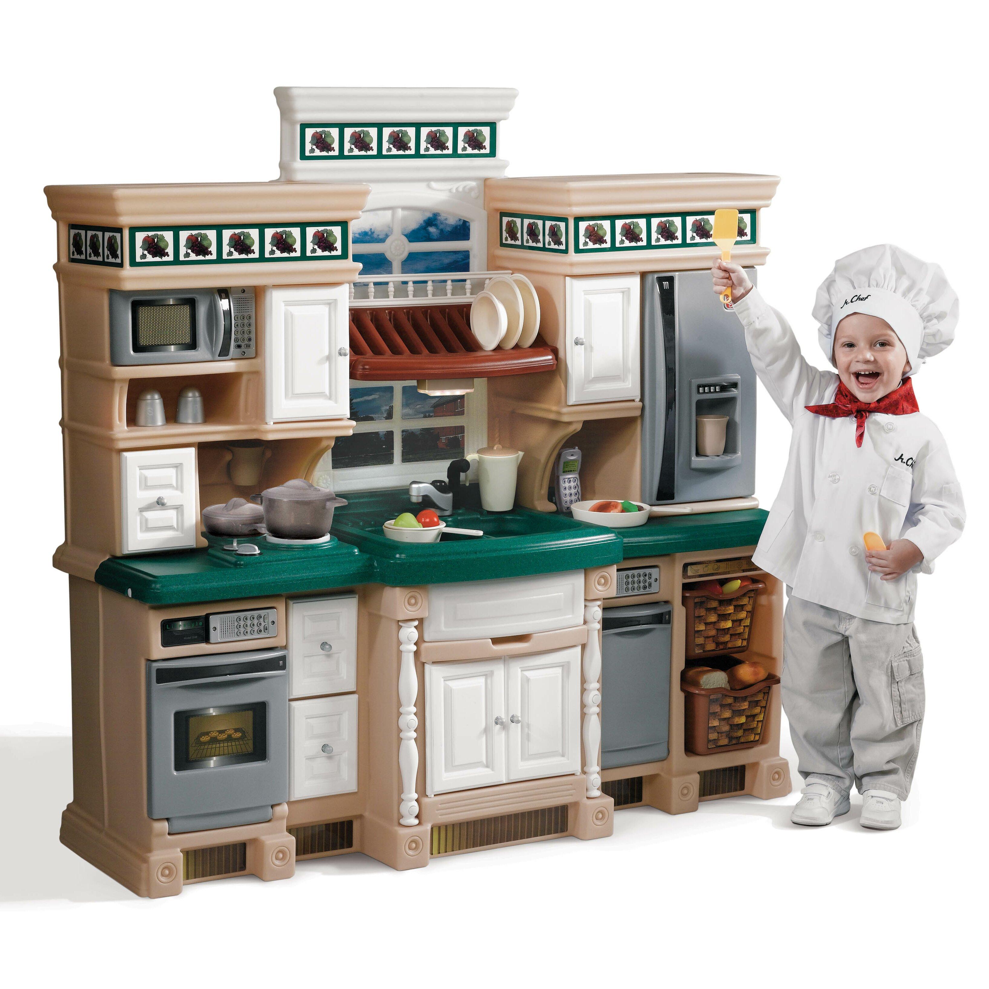 Step2 LifeStyle Deluxe Kitchen Set & Reviews | Wayfair