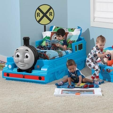 Step2 Thomas The Tank Engine™ Toddler Bed & Reviews   Wayfair