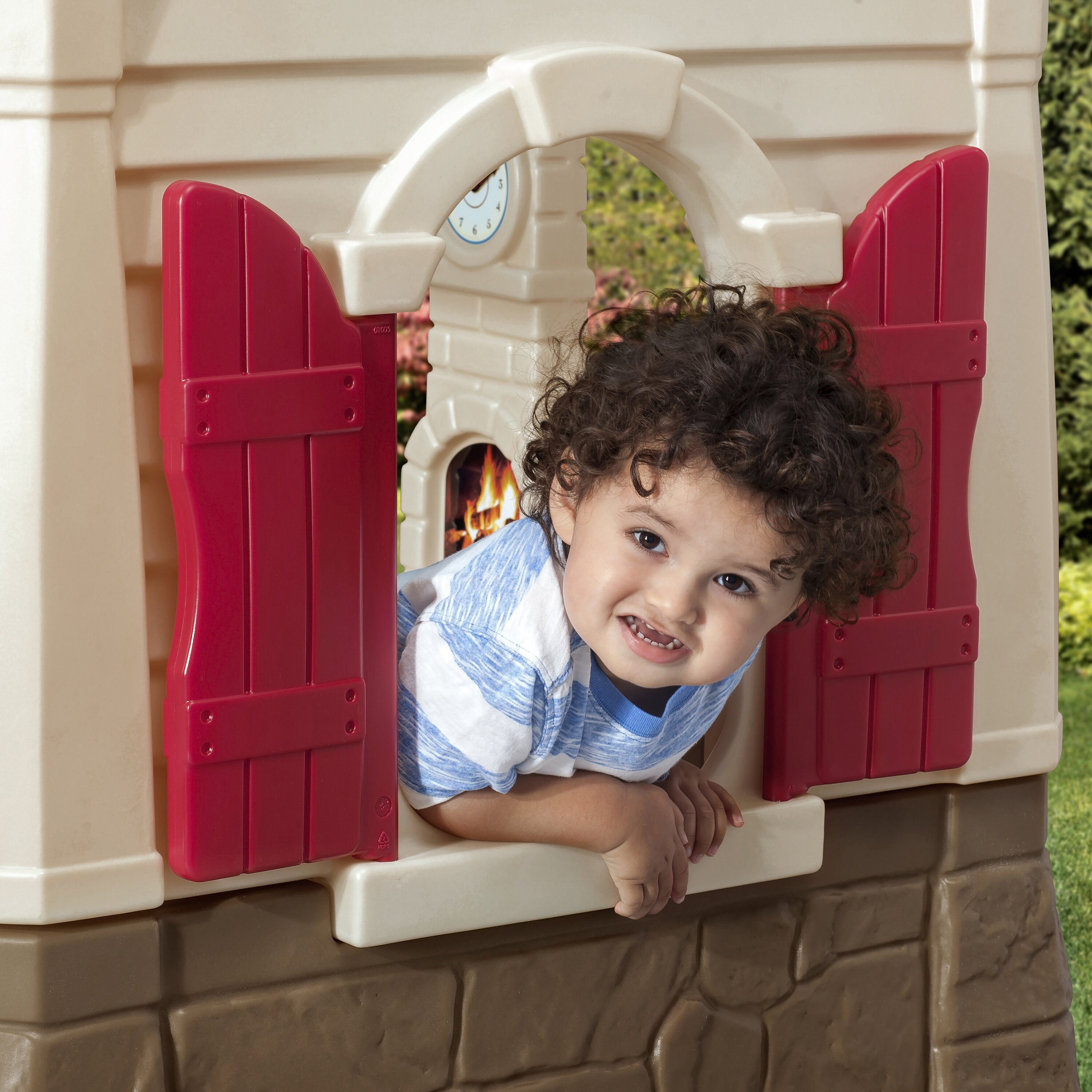 Step2 Neat And Tidy Cottage Playhouse Amp Reviews Wayfair