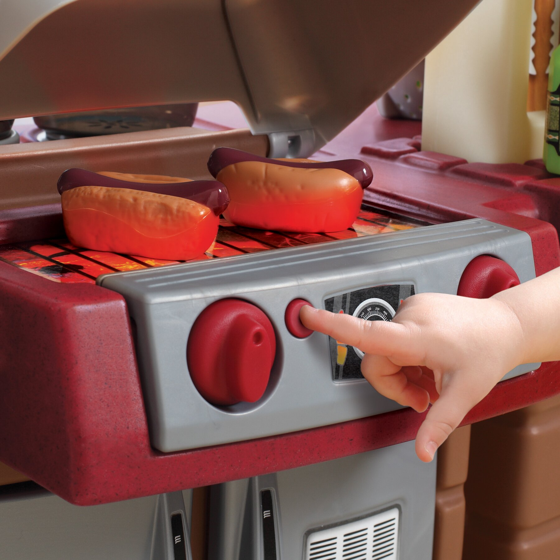 Step2 Grand Walk In Kitchen And Grill Amp Reviews Wayfair
