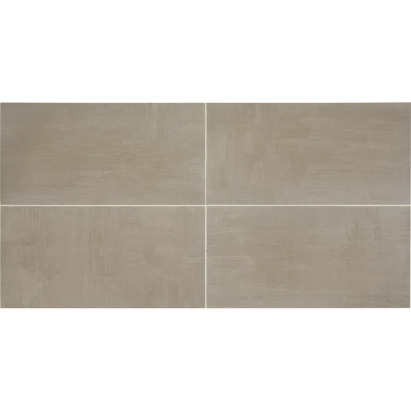 Daltile Skybridge 12 X 24 Field Tile In Gray