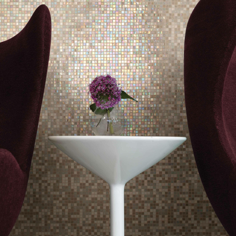 Daltile City Lights 0.5u0026quot; x 0.5u0026quot; Glass Mosaic Tile in Beige u0026 Reviews : Wayfair