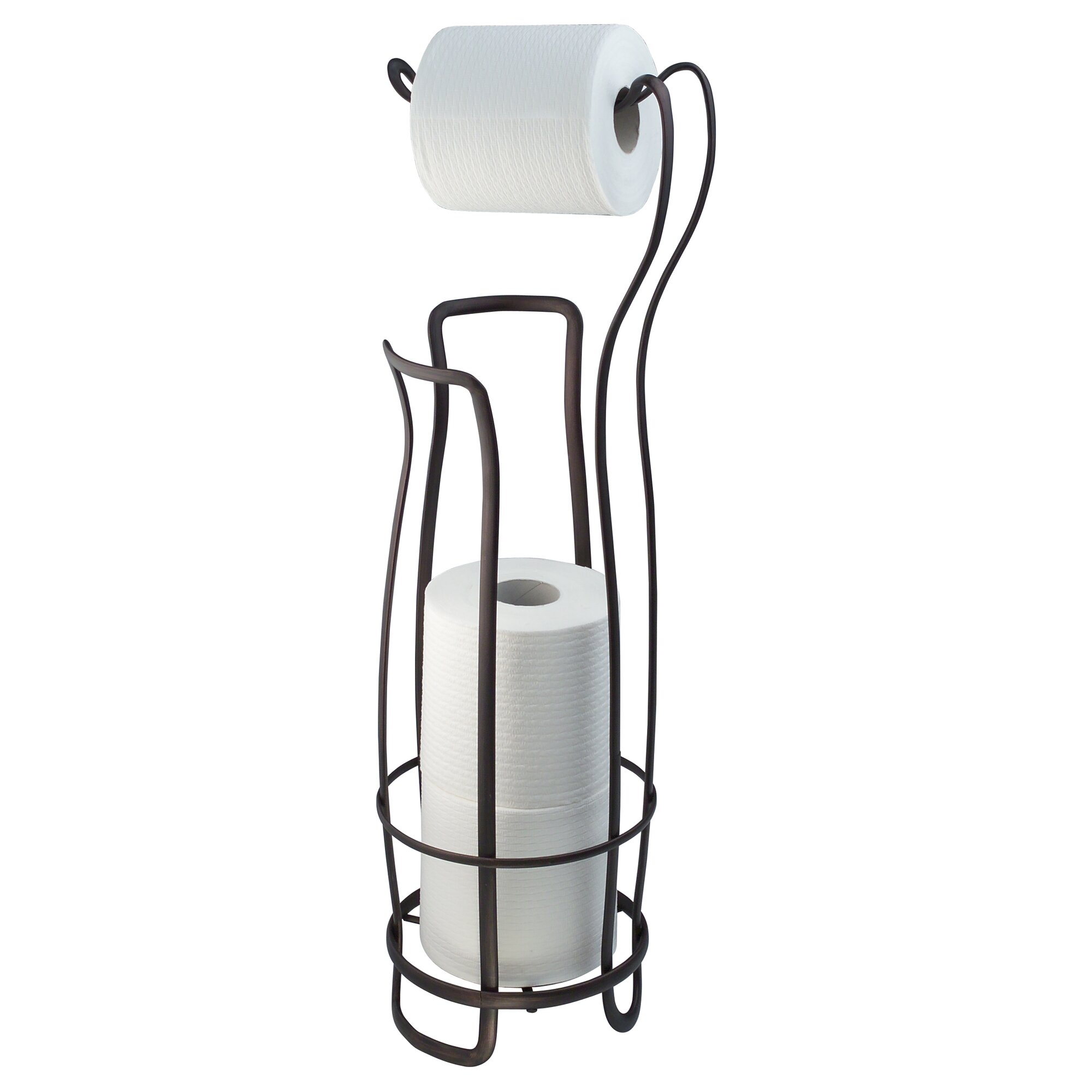Interdesign toilet paper holder and reserve reviews wayfair - Interdesign toilet paper holder ...