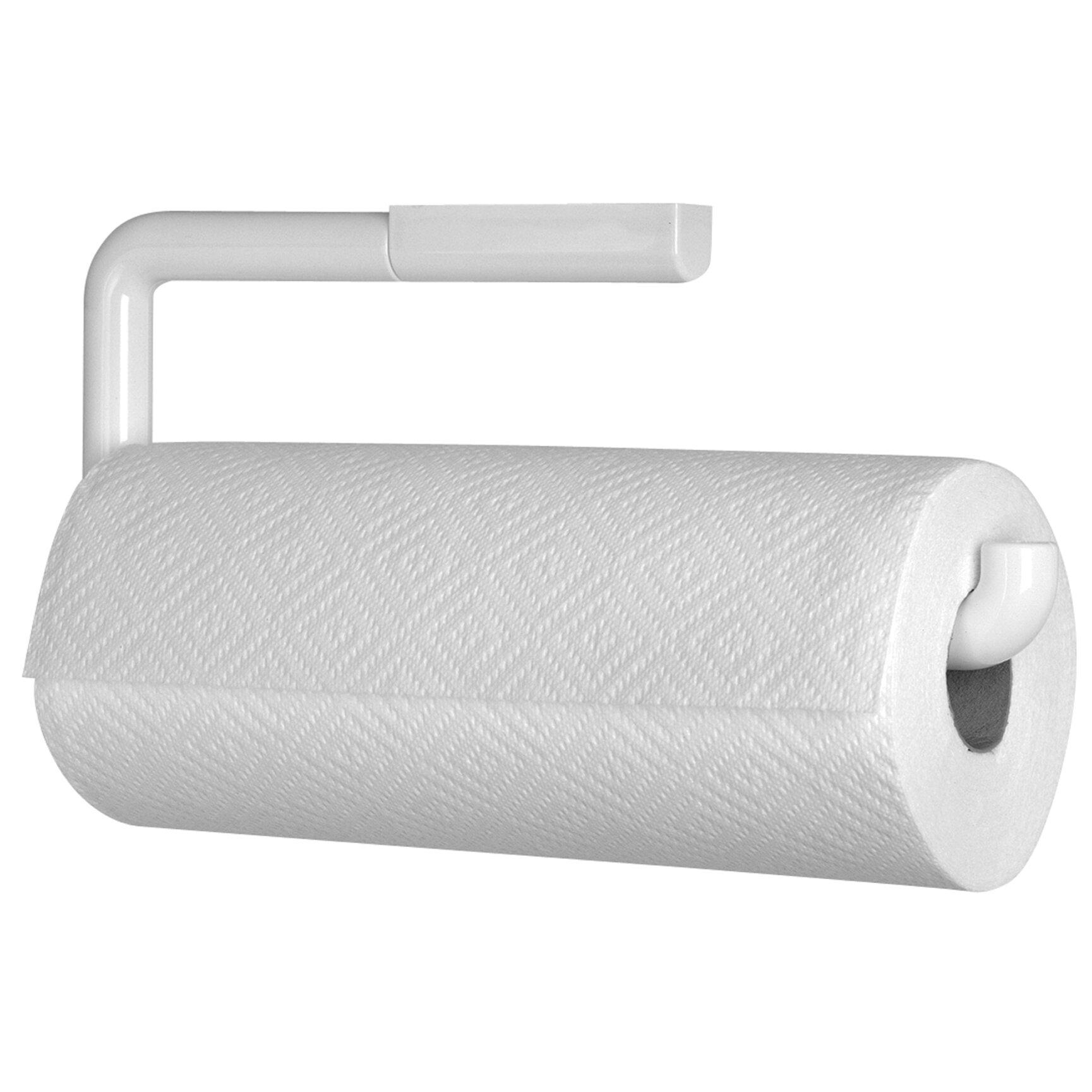 interdesign wall mounted paper holder towel reviews wayfair. Black Bedroom Furniture Sets. Home Design Ideas
