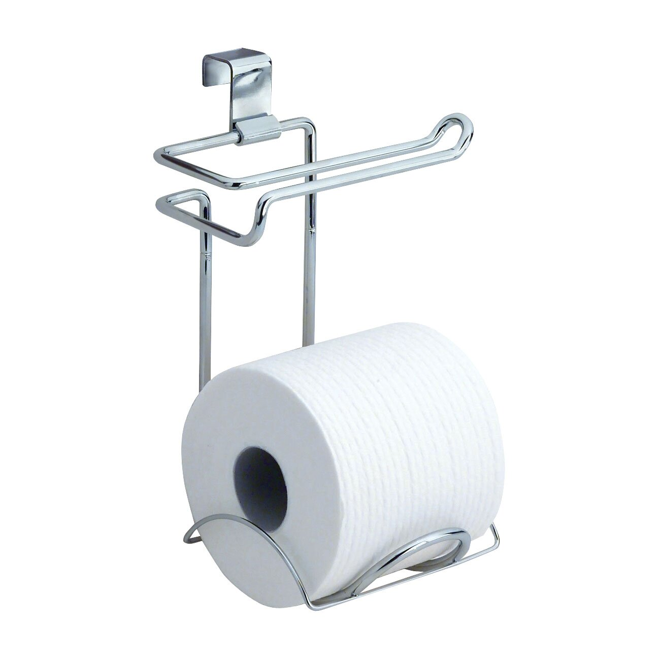 Interdesign classico over the toilet toiletpaper holder reviews wayfair - Interdesign toilet paper holder ...