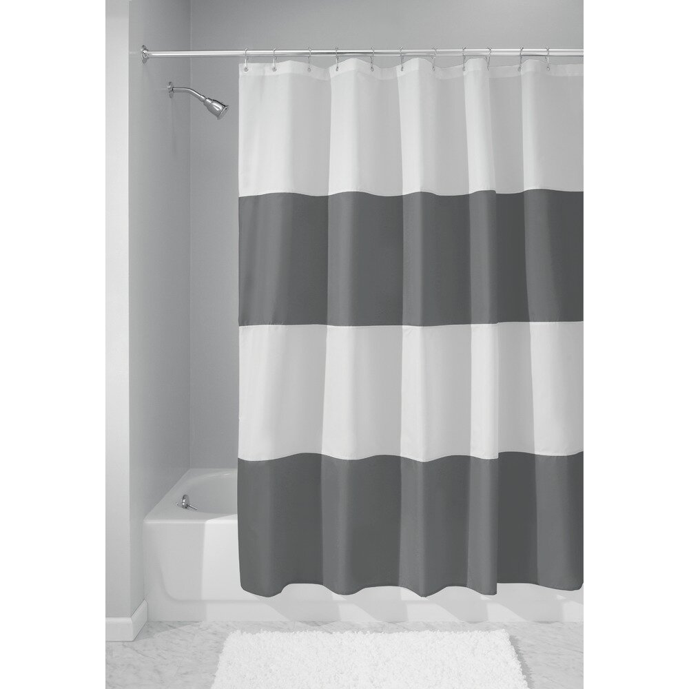 InterDesign Mildew Free Water Repellent Zeno Shower  : Mildew Free Water Repellent Zeno Shower Curtain 26915 from www.wayfair.com size 1000 x 1000 jpeg 58kB