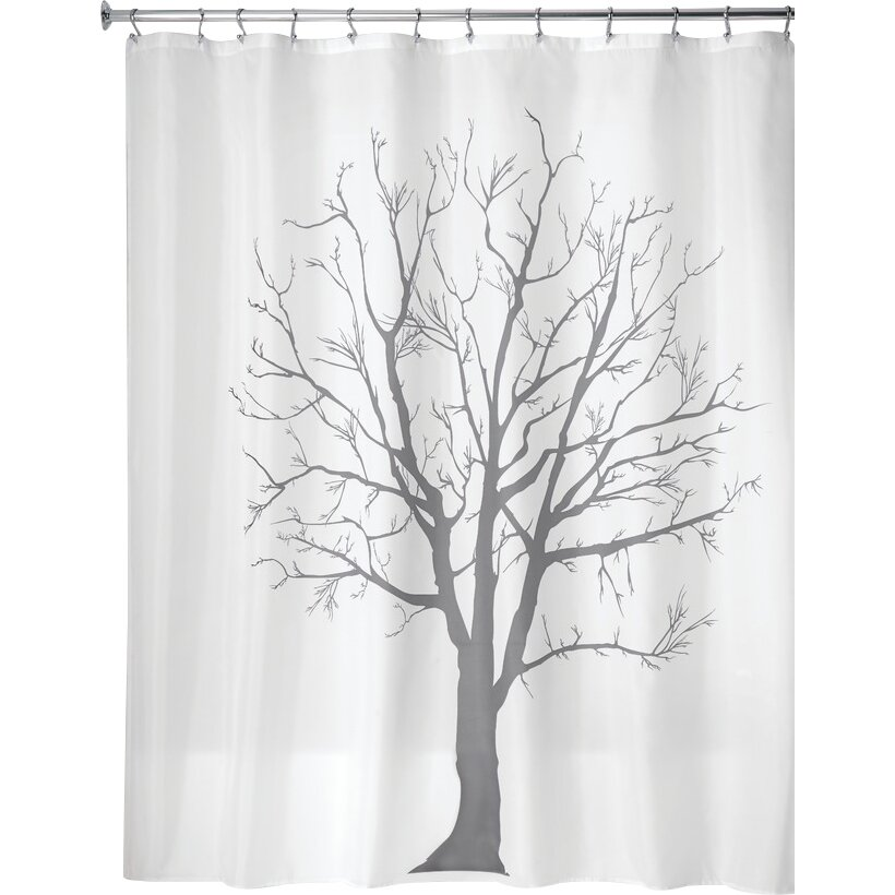 interdesign tree shower curtain reviews wayfair