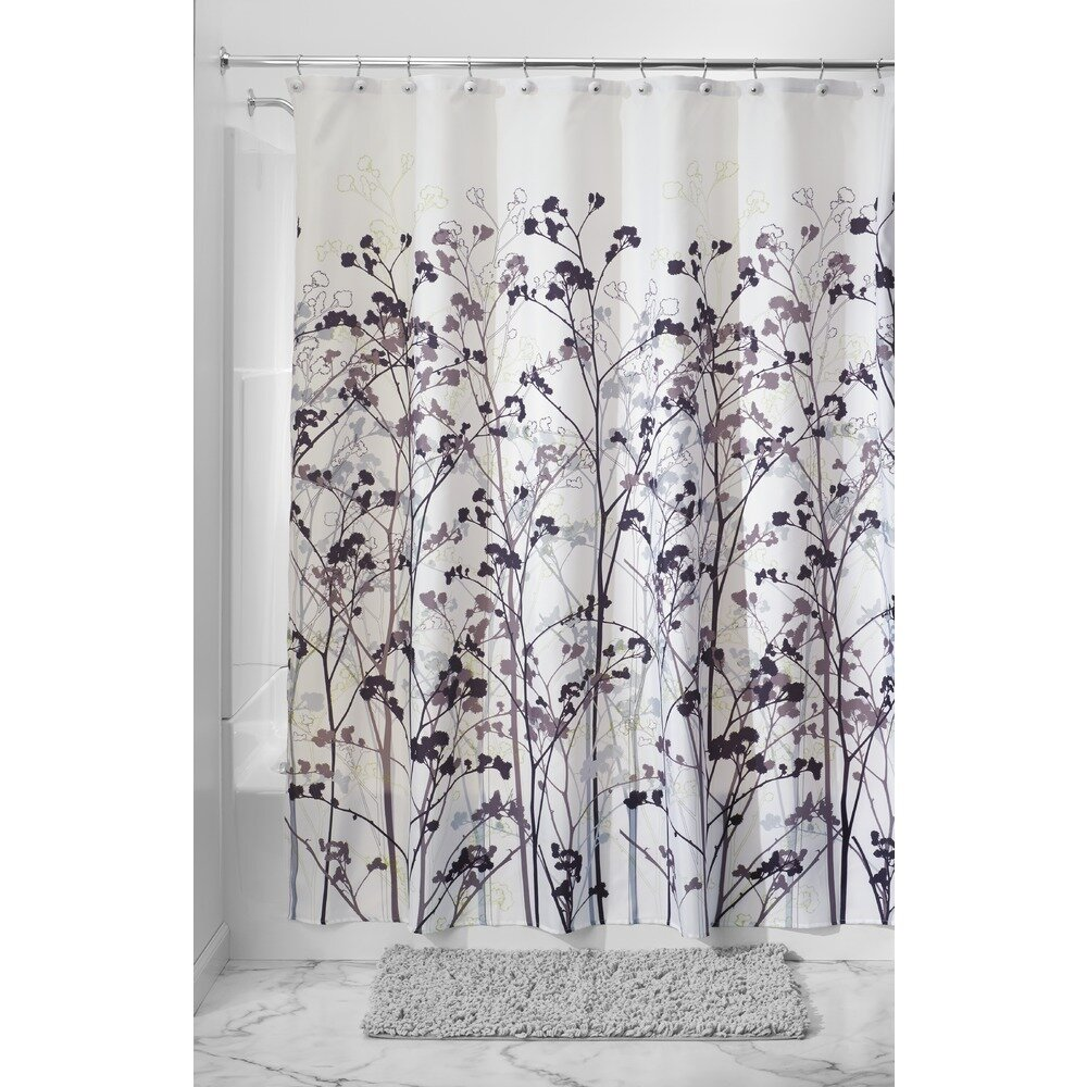 Interdesign Freesia Shower Curtain Reviews Wayfair