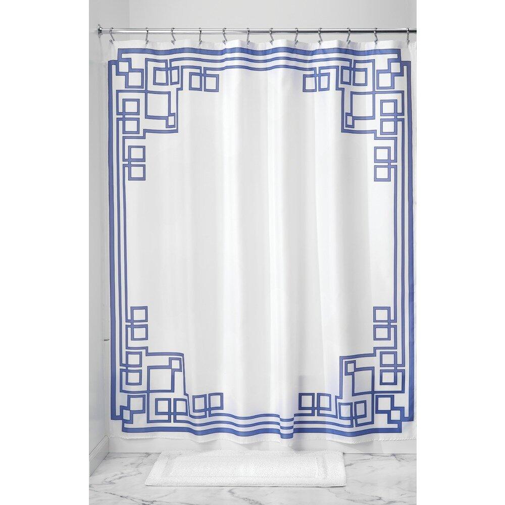 Interdesign Greek Key Shower Curtain Wayfair