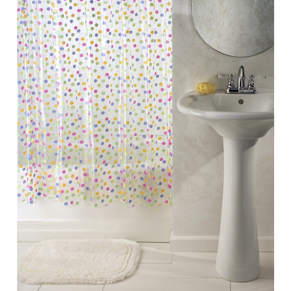 Interdesign Glee Shower Curtain Wayfair