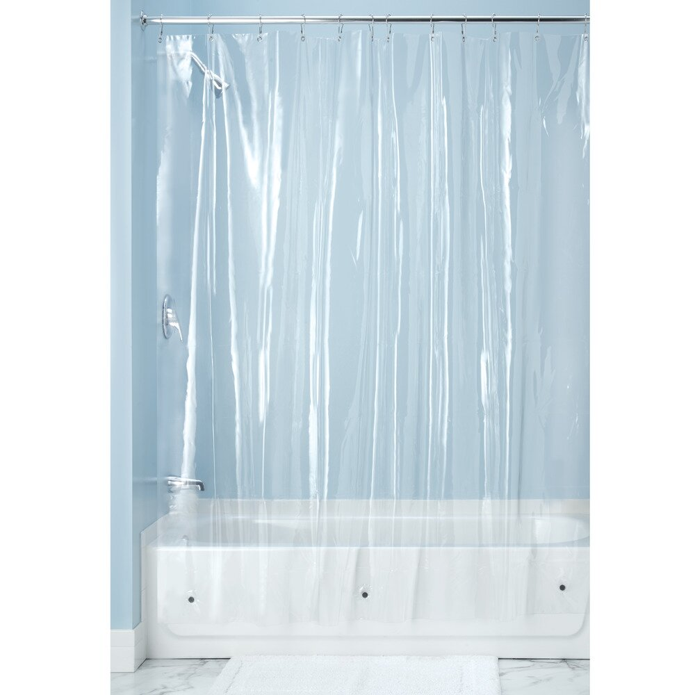 interdesign vinyl shower curtain wayfair