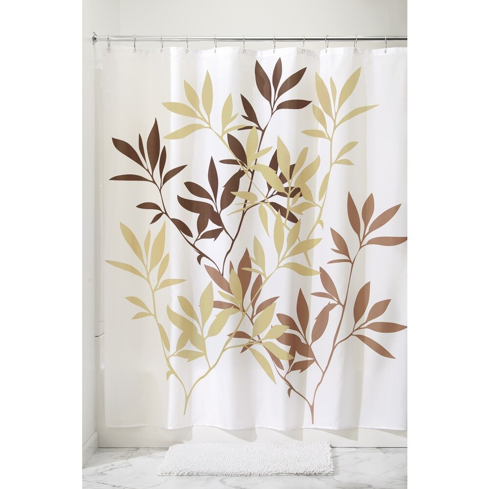 InterDesign Leaves Shower Curtain & Reviews