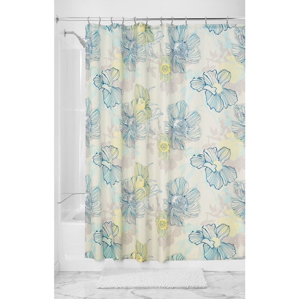 Interdesign Elsa Shower Curtain Wayfair