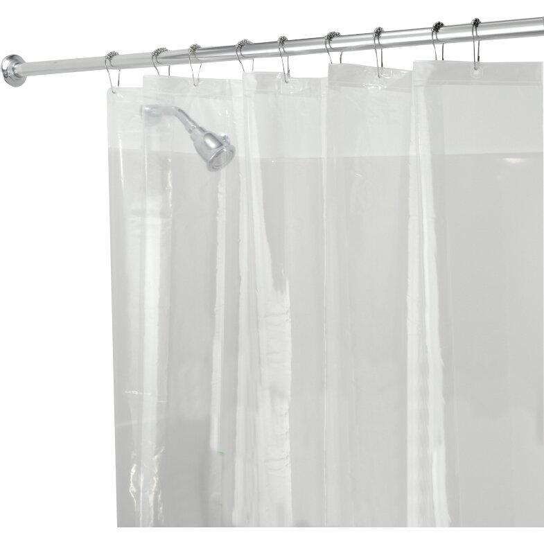 Interdesign Mildew Free Peva 3 Gauge Shower Curtain Liner Reviews Wayfair