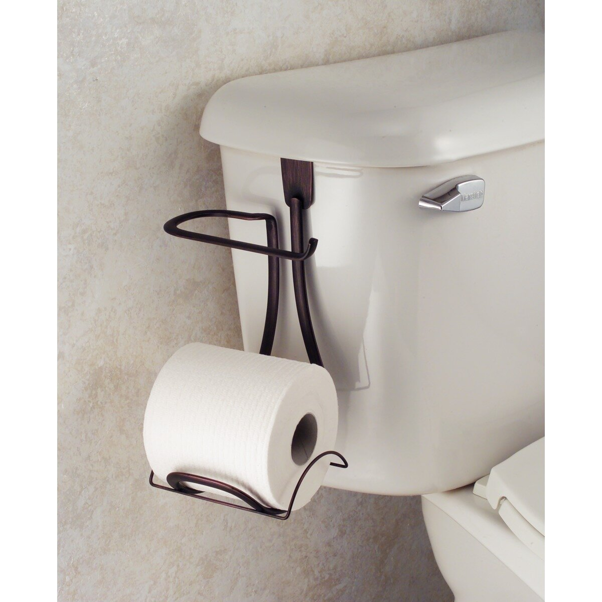 Interdesign axis toilet paper holder reviews wayfair - Interdesign toilet paper holder ...