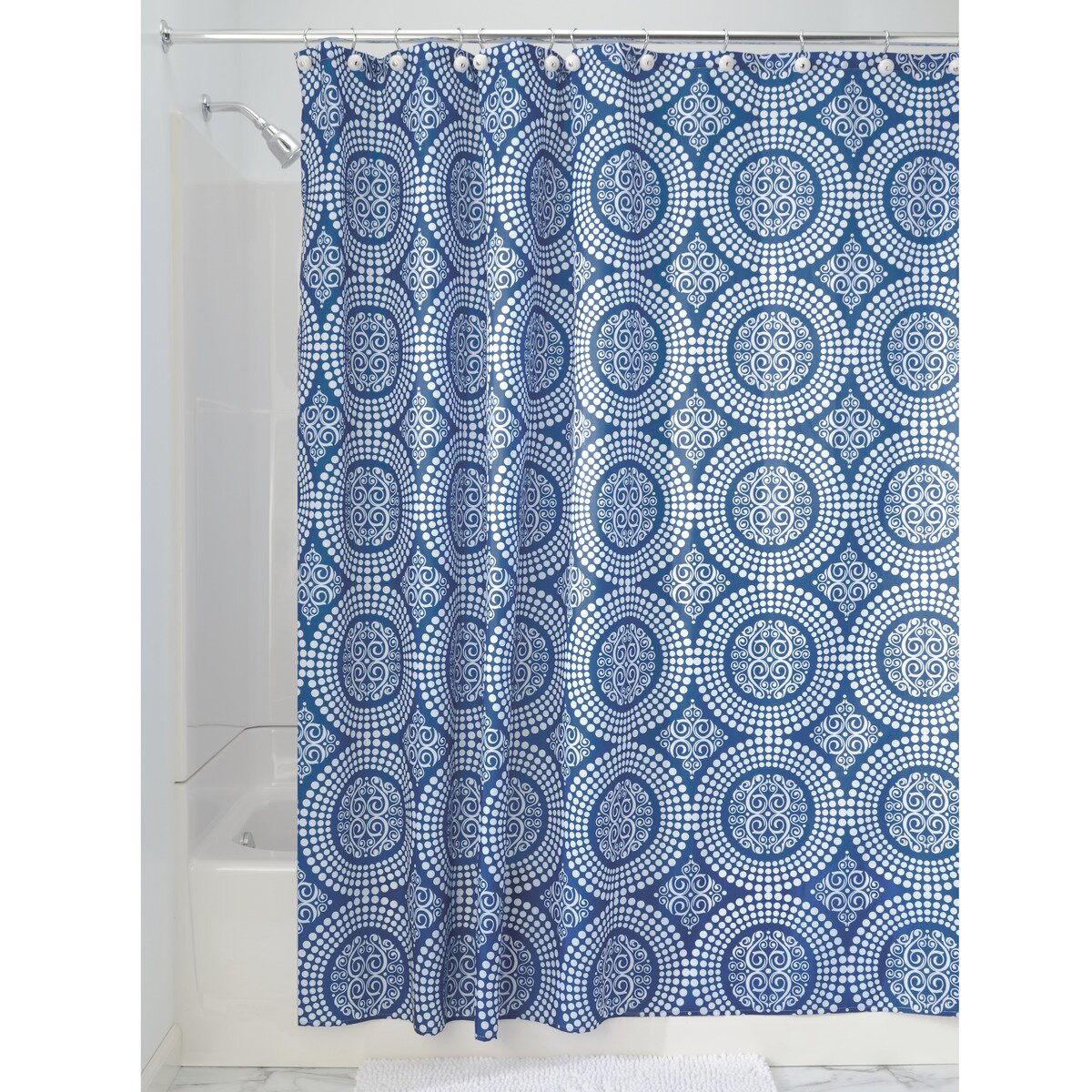 Interdesign Medallion Shower Curtain Wayfair