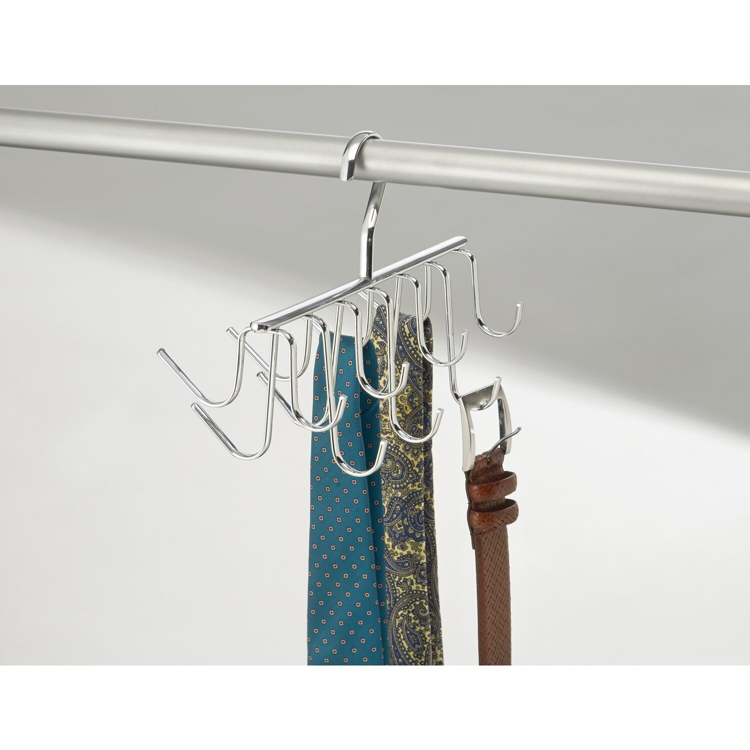 Interdesign axis hanging coat rack wayfair for Inter designs