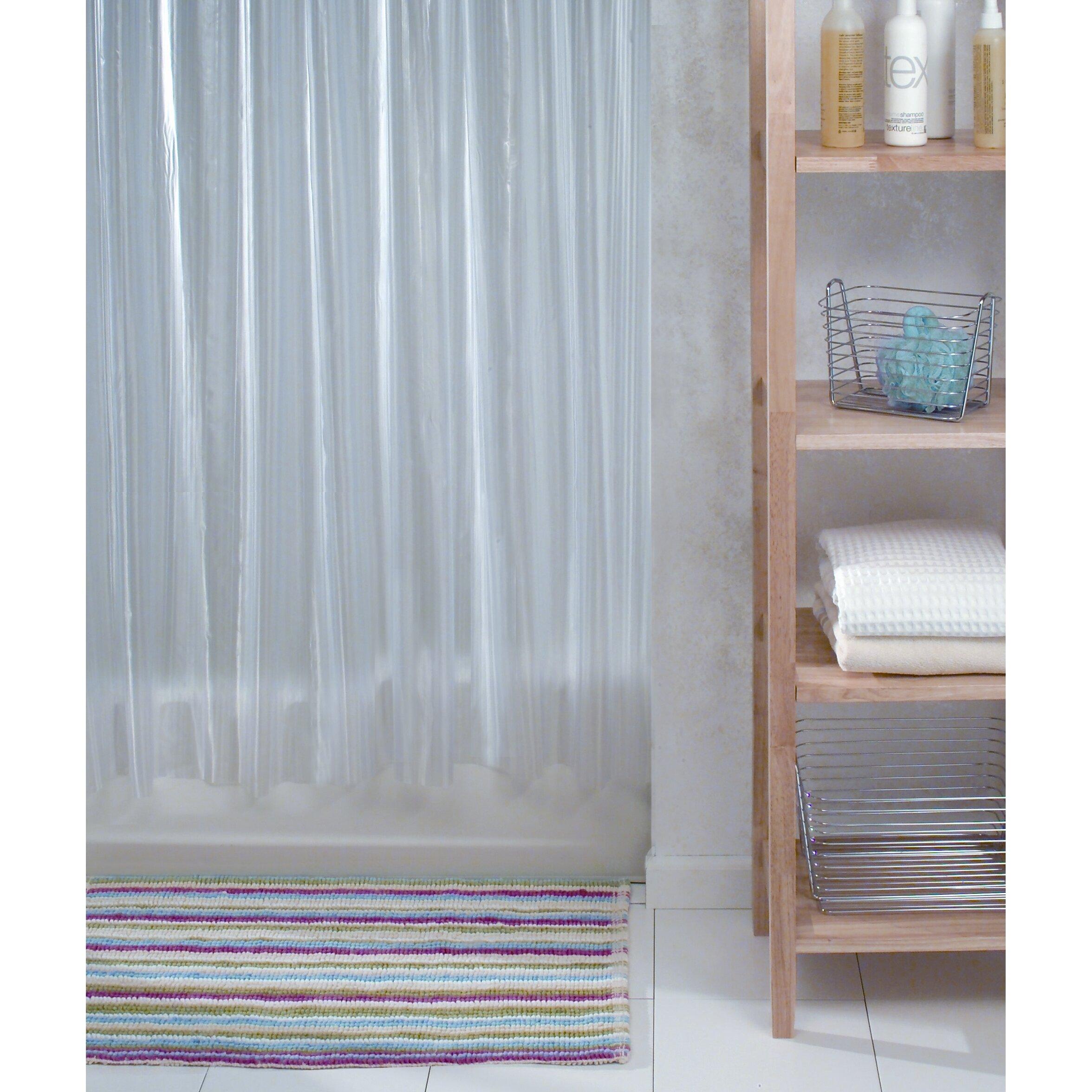 Interdesign zia vinyl shower curtain reviews for Vinyl window designs complaints