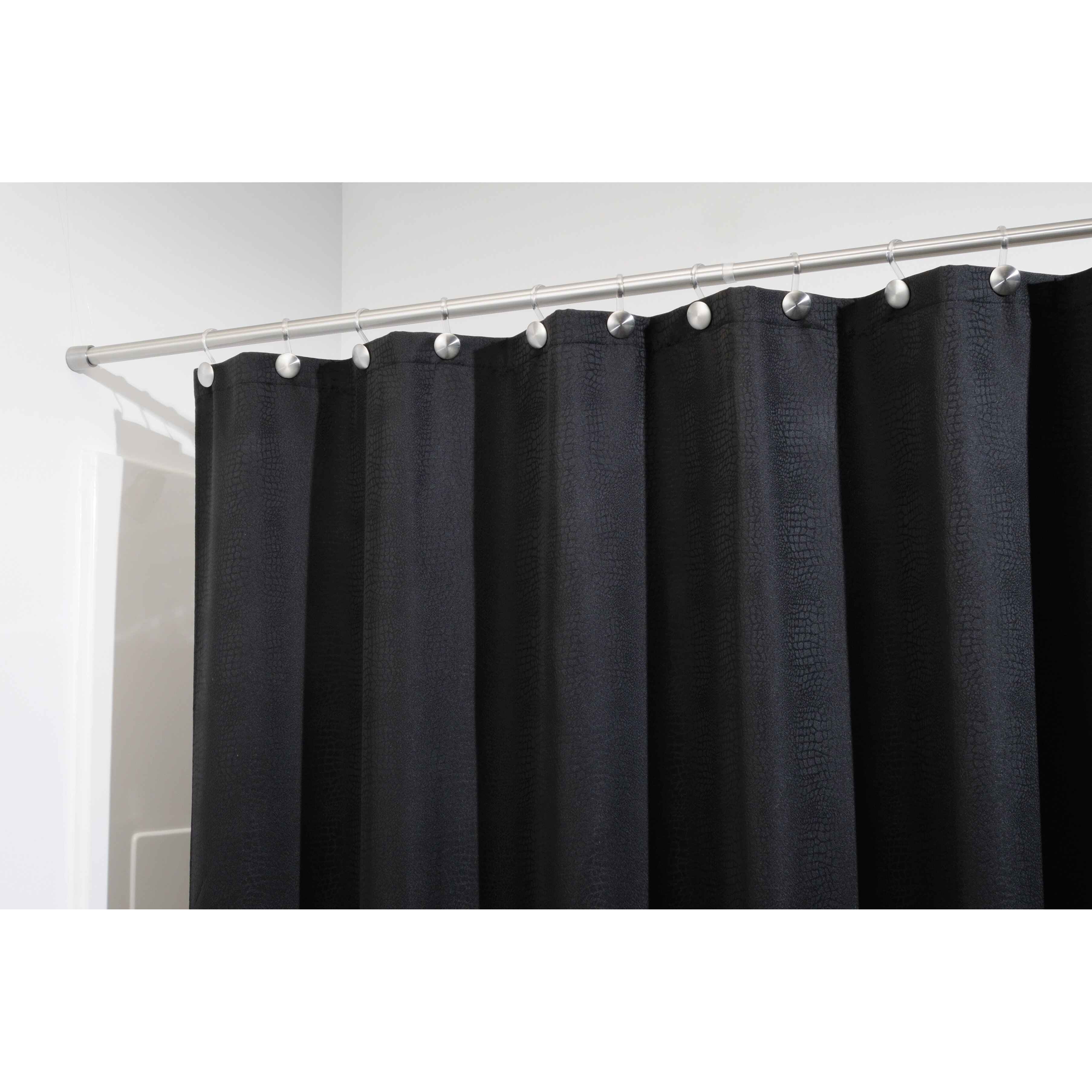 InterDesign Forma Small Adjustable Straight Tension Shower