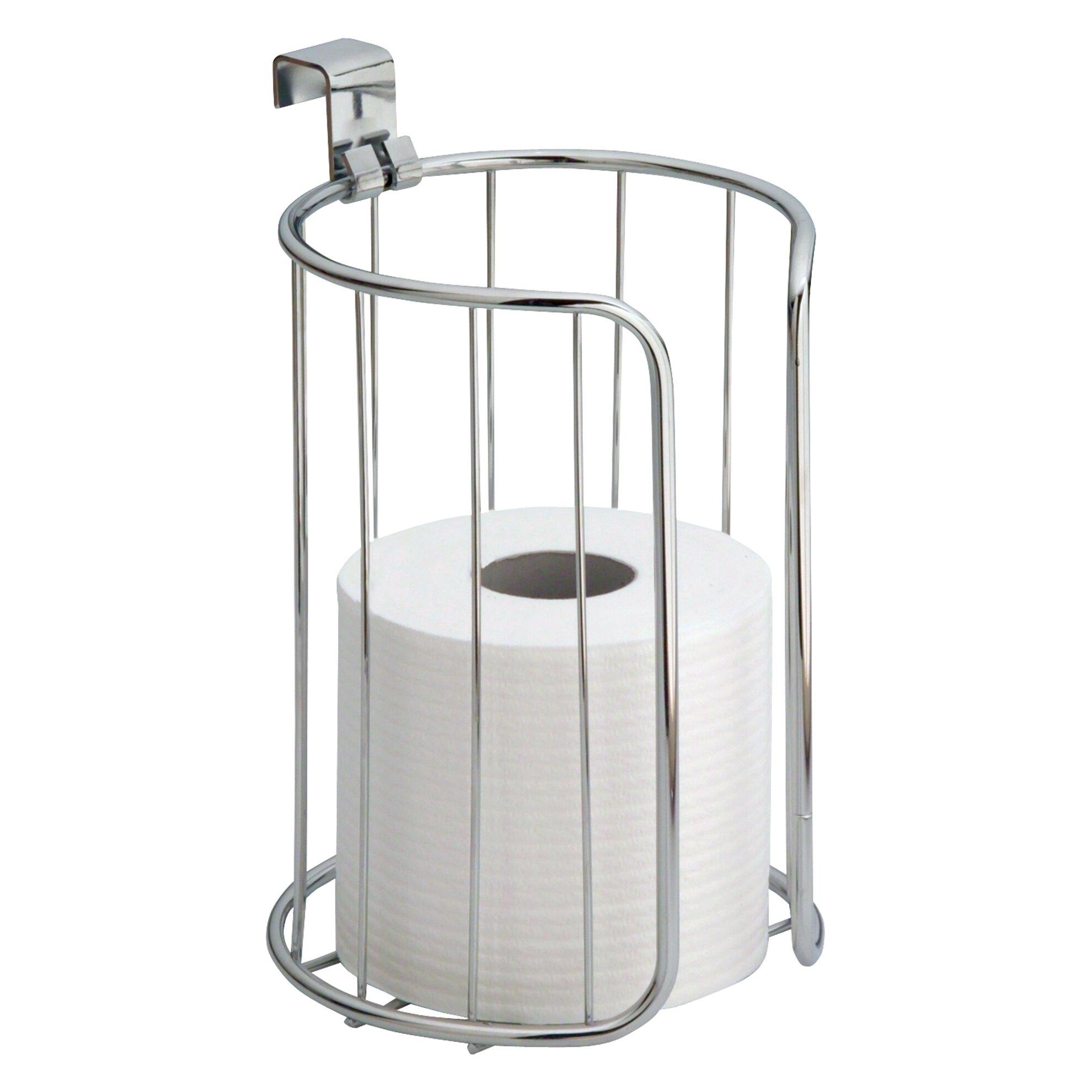 Interdesign classico over the toilet paper holder reviews wayfair - Interdesign toilet paper holder ...