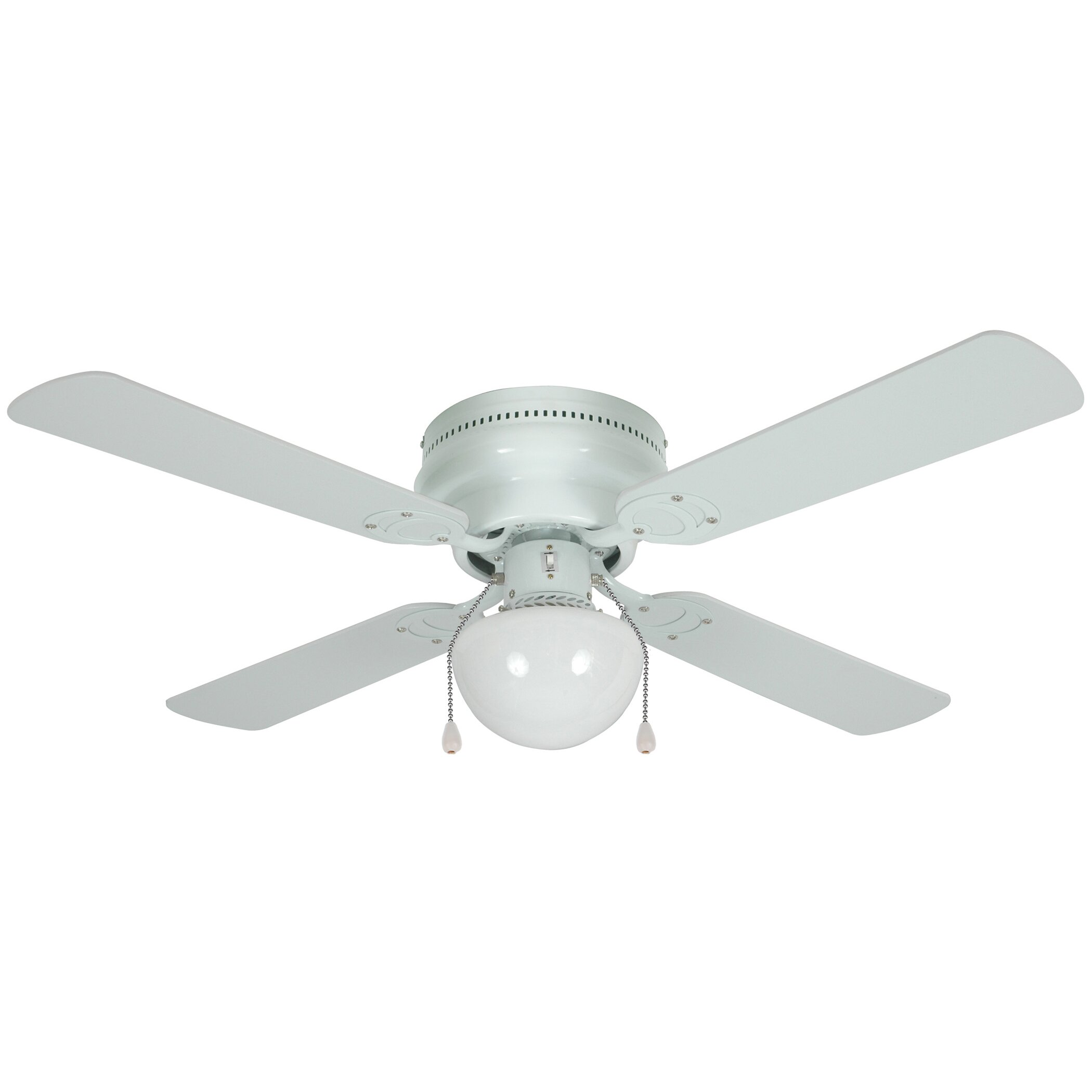 Four Blade Fan : Hardware house quot trinidad blade ceiling fan reviews