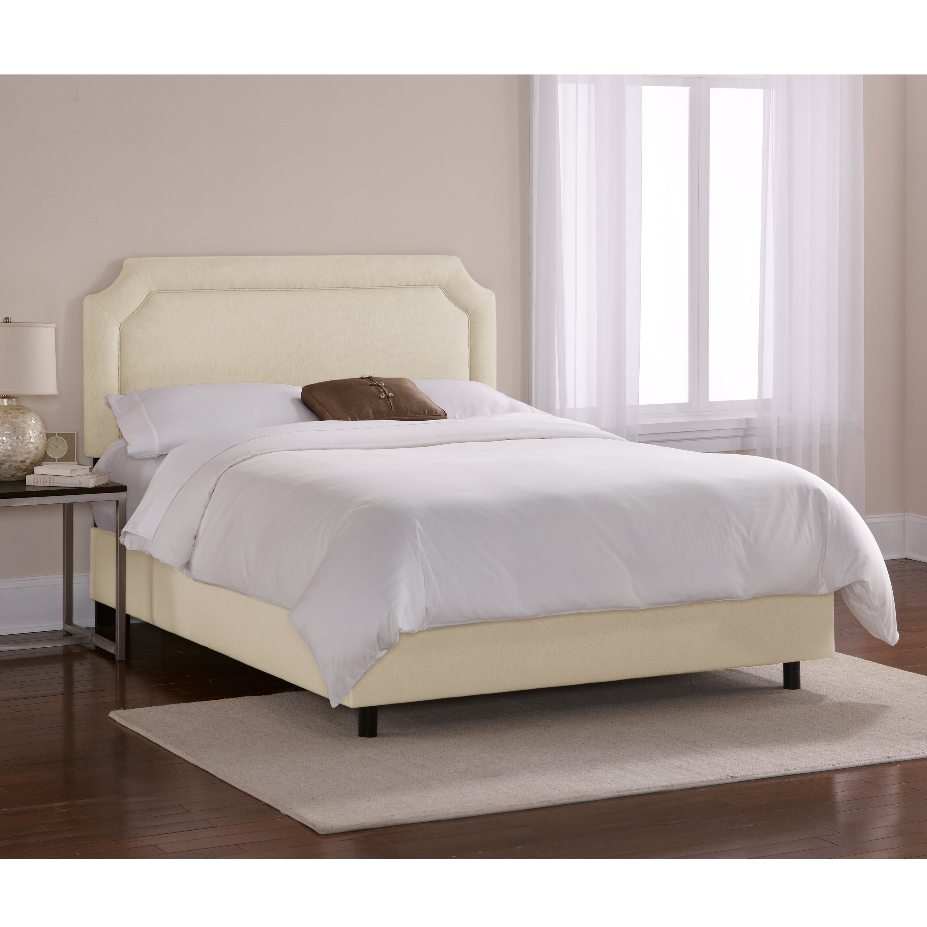 Skyline Furniture Chambers Upholstered Platform Bed Wayfair