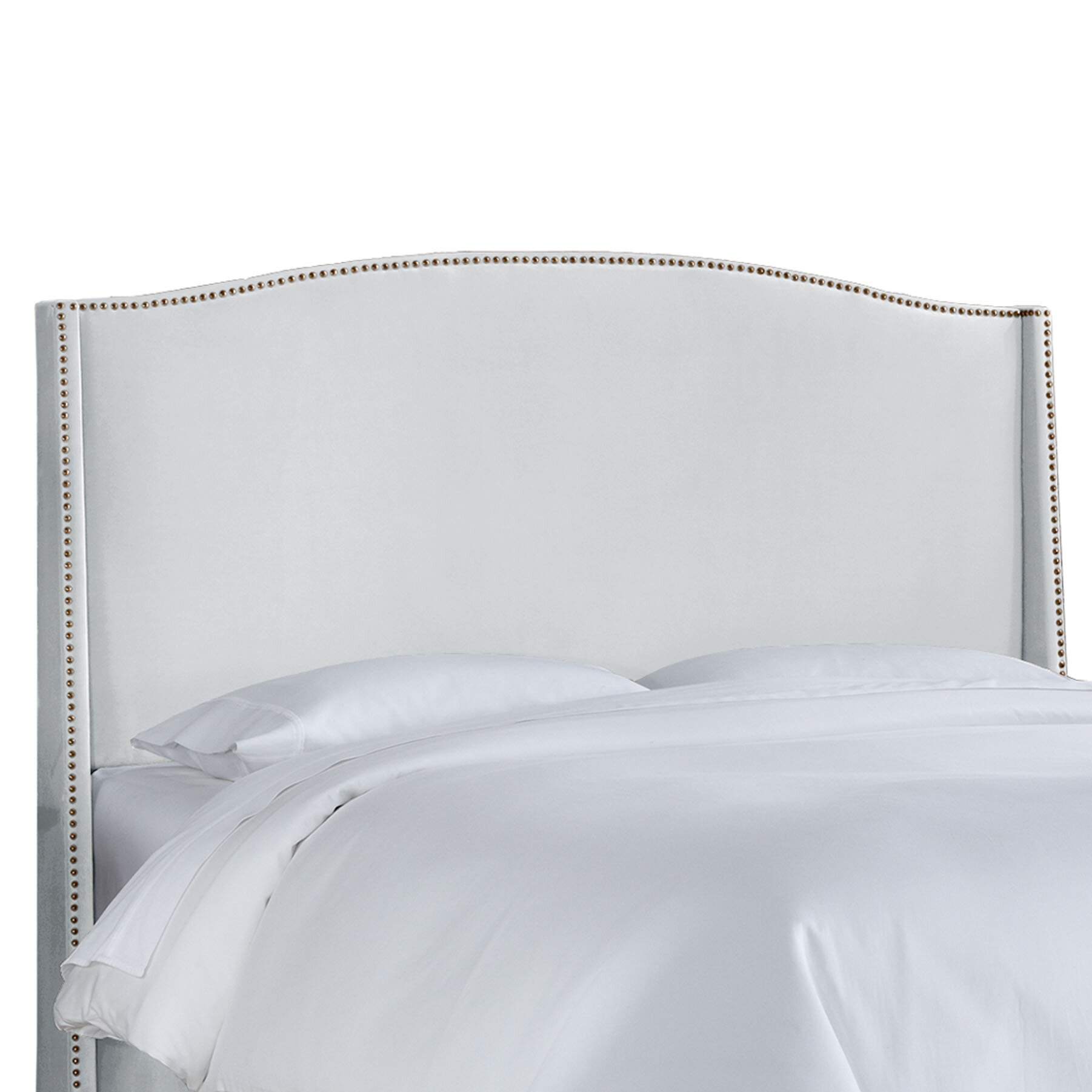 skyline furniture nail upholstered wingback headboard review