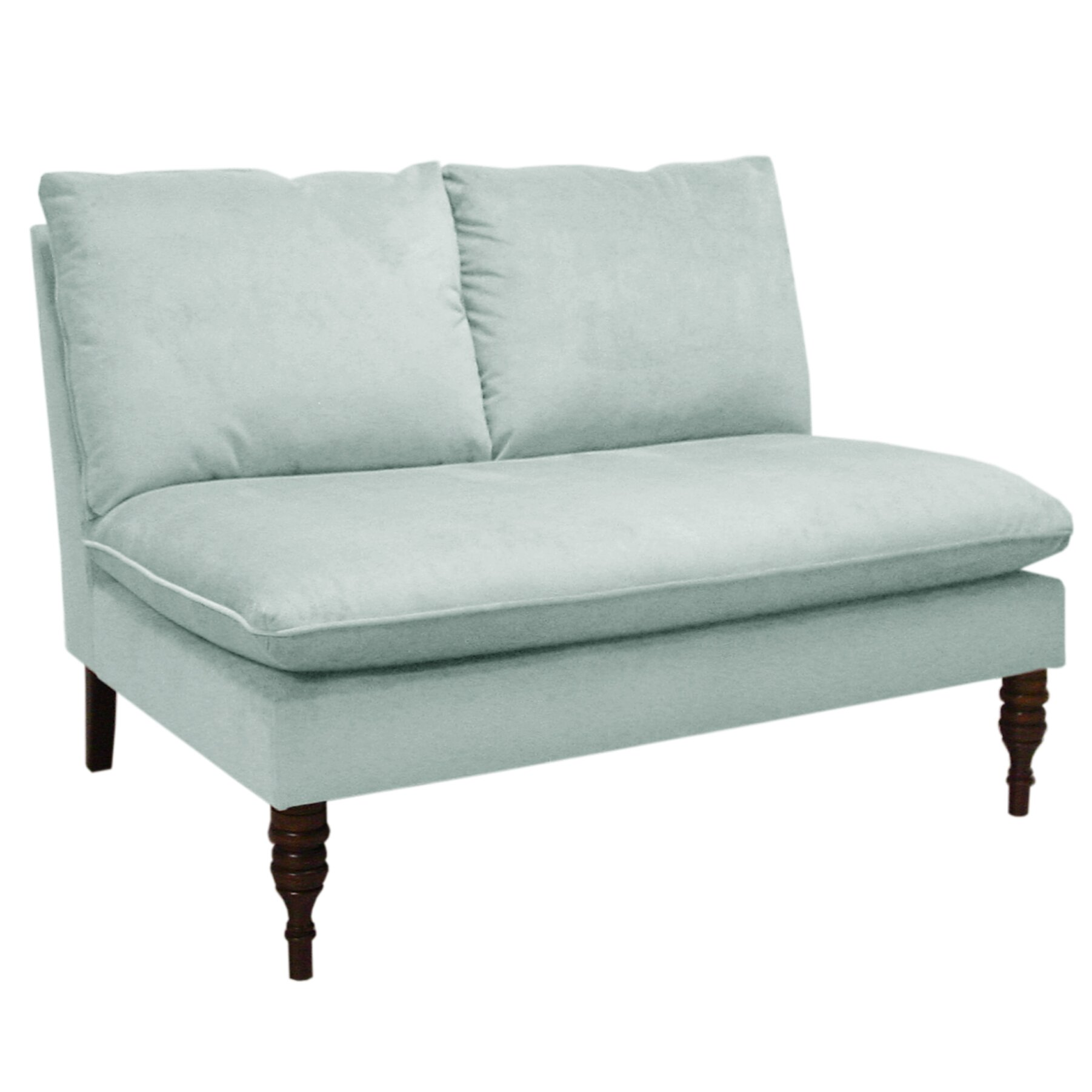 Skyline Furniture Linen Settee Reviews Wayfair