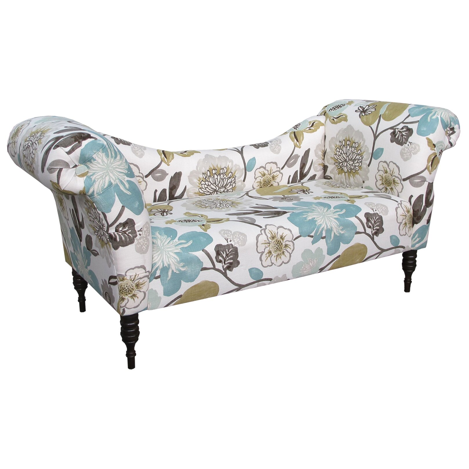 skyline furniture gorgeous roll arm chaise lounge reviews wayfair. Black Bedroom Furniture Sets. Home Design Ideas