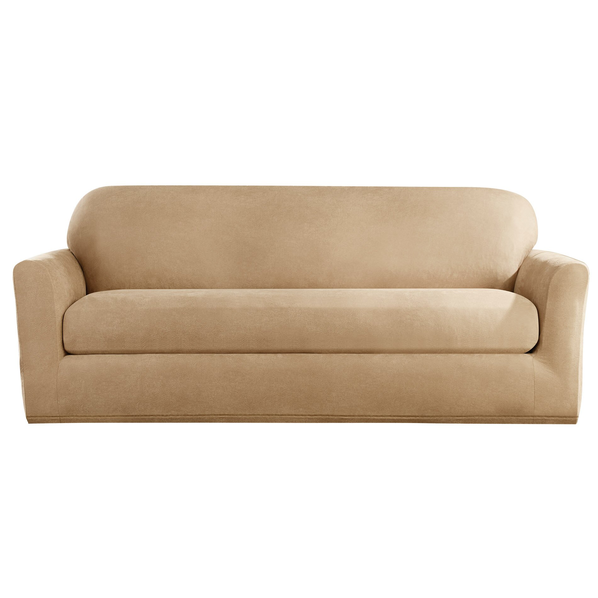 Sure Fit Stretch Leather Sofa Slipcover Reviews