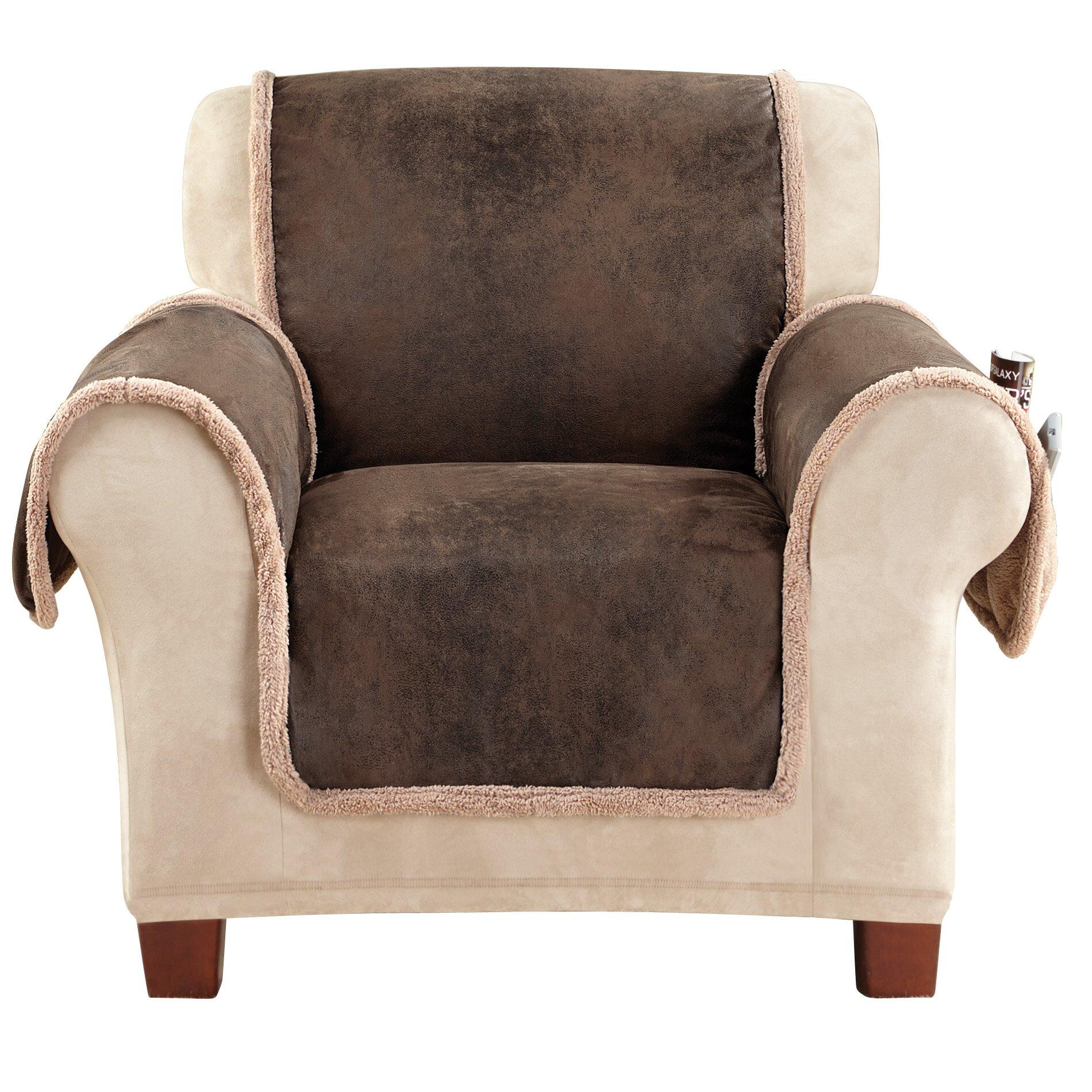 Sure Fit Vintage Armchair Slipcover Amp Reviews Wayfair