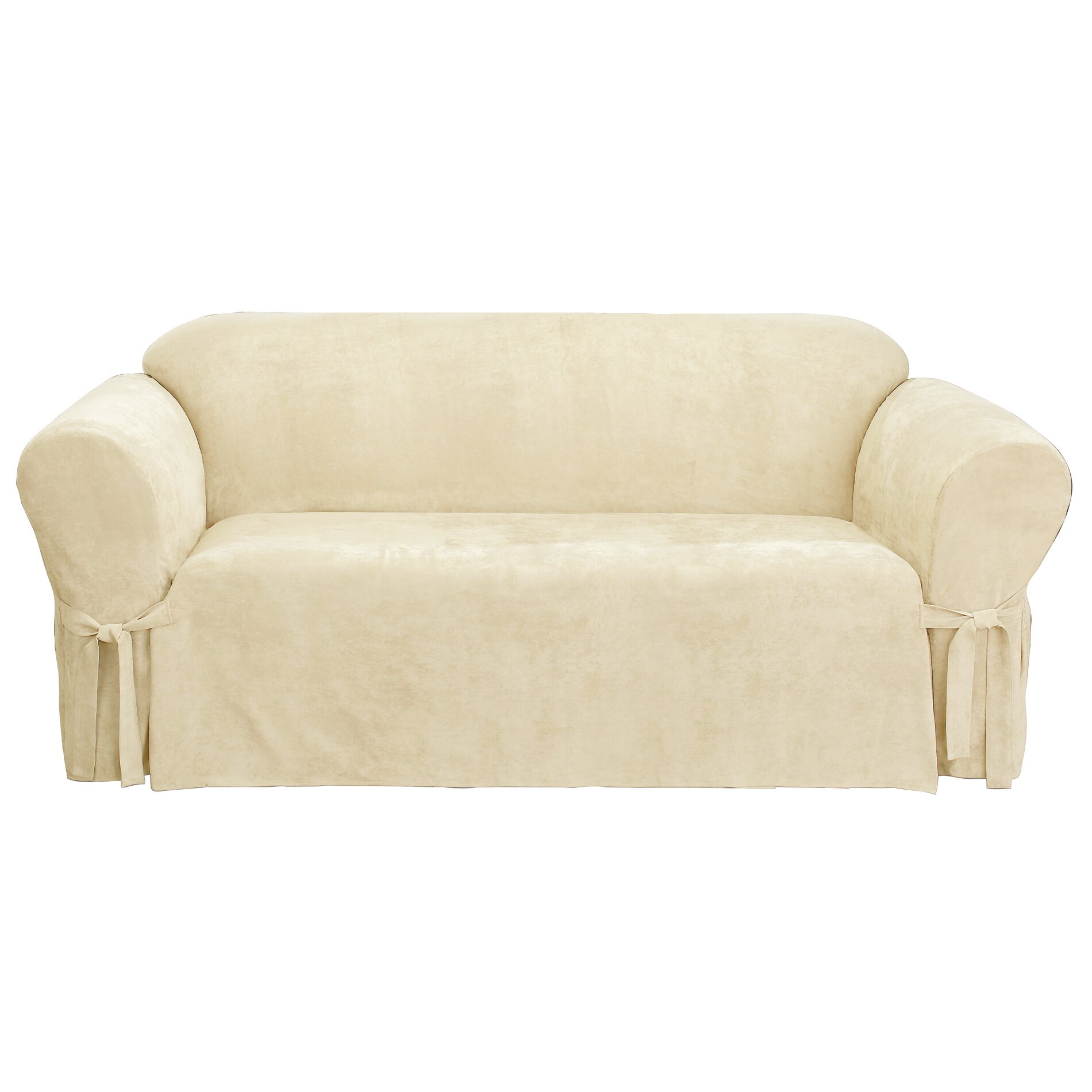 sure fit soft suede sofa slipcover reviews