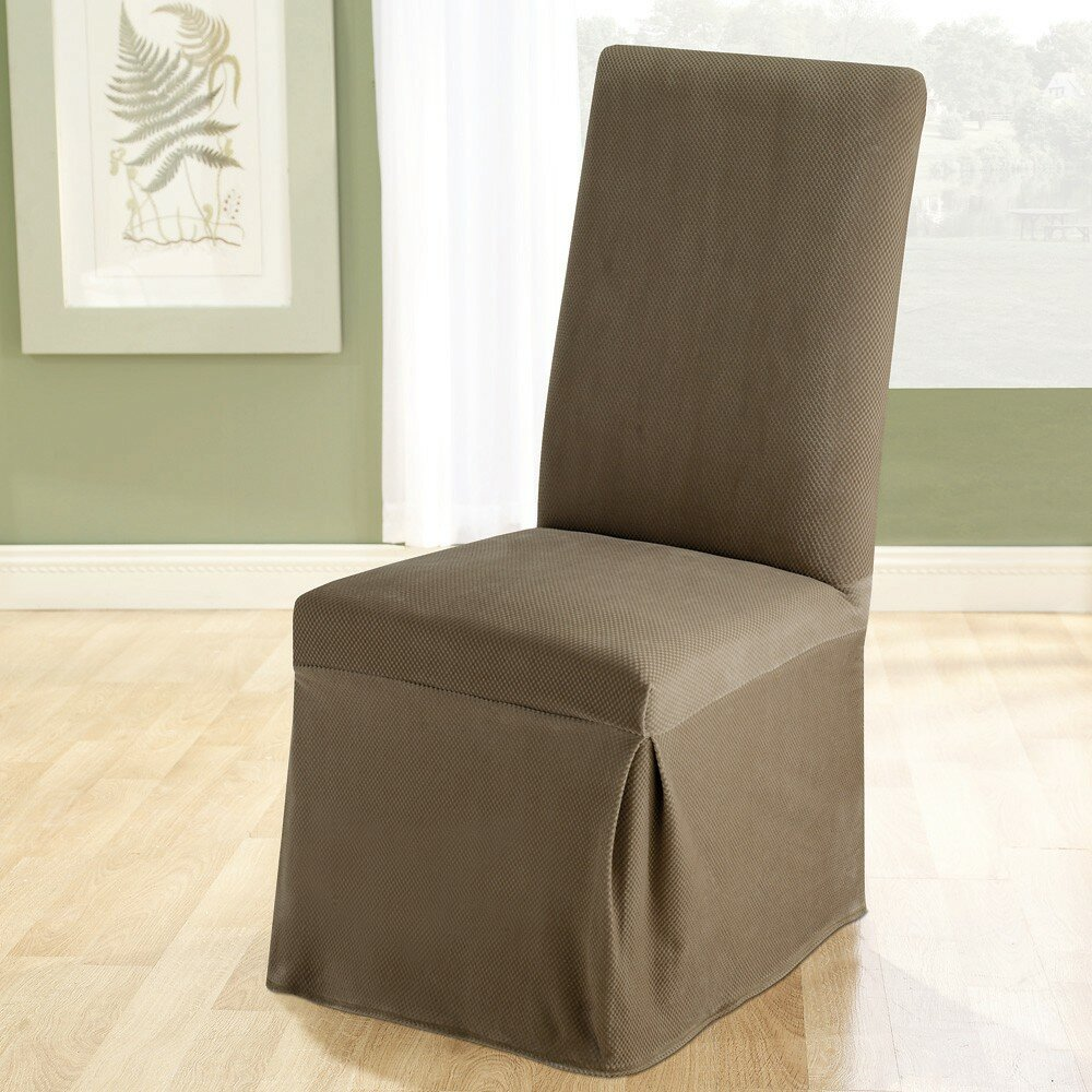 Sure Fit Stretch Pique Dining Chair Slipcover Amp Reviews