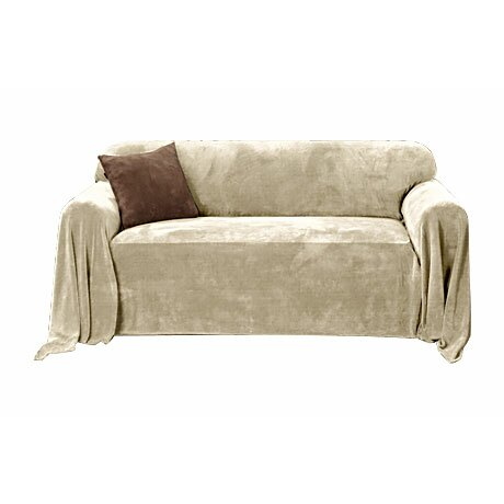 Sure Fit Plush Loveseat Slipcover Throw Reviews Wayfair