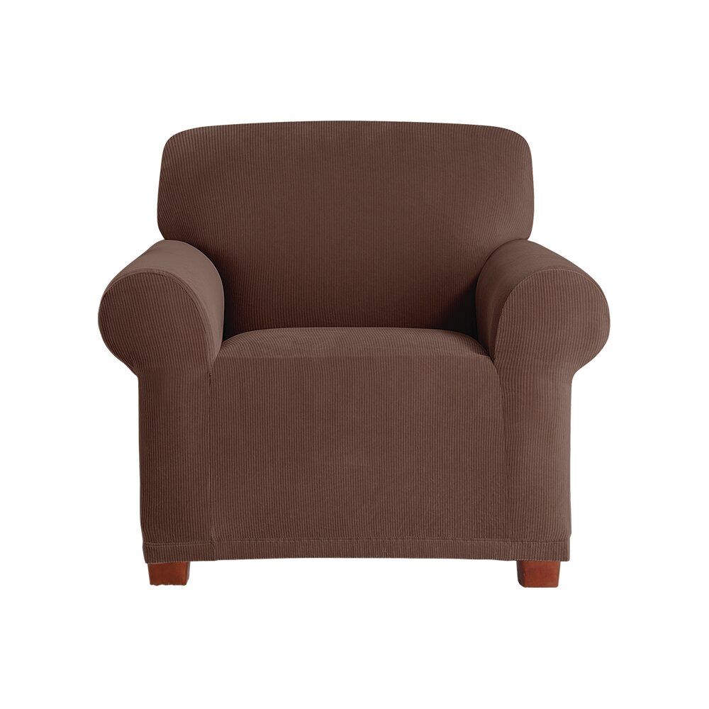 Sure Fit Stretch Pixel Armchair Slipcover & Reviews | Wayfair