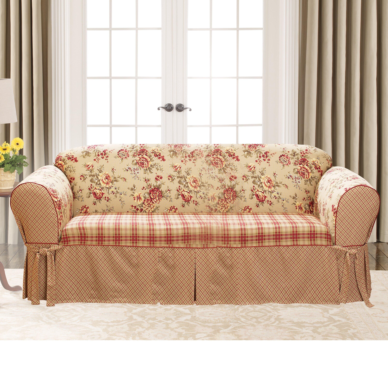 Sure Fit Lexington Sofa Skirted Box Cushion Slipcover