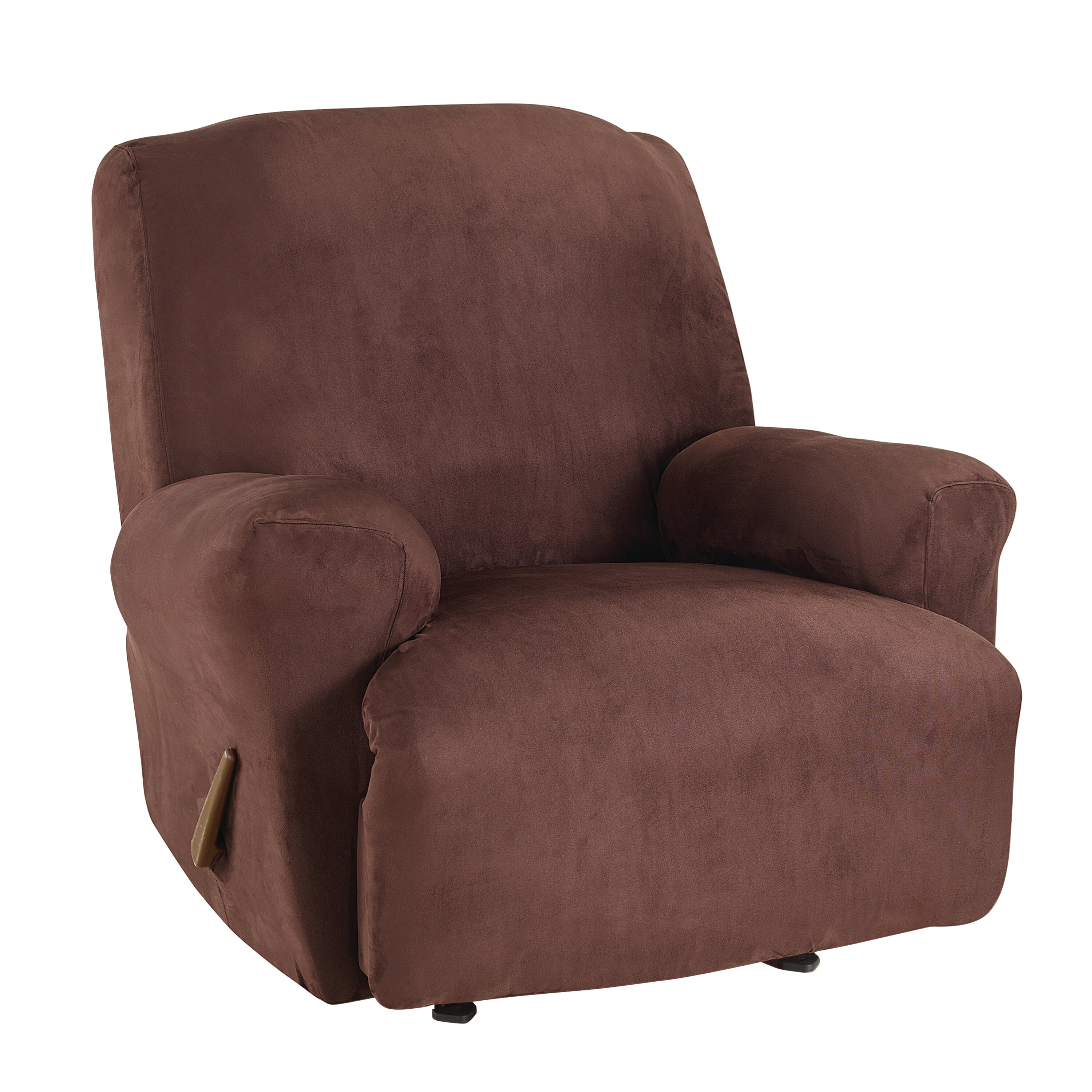 Sure Fit Ultimate Heavyweight Stretch Suede Recliner