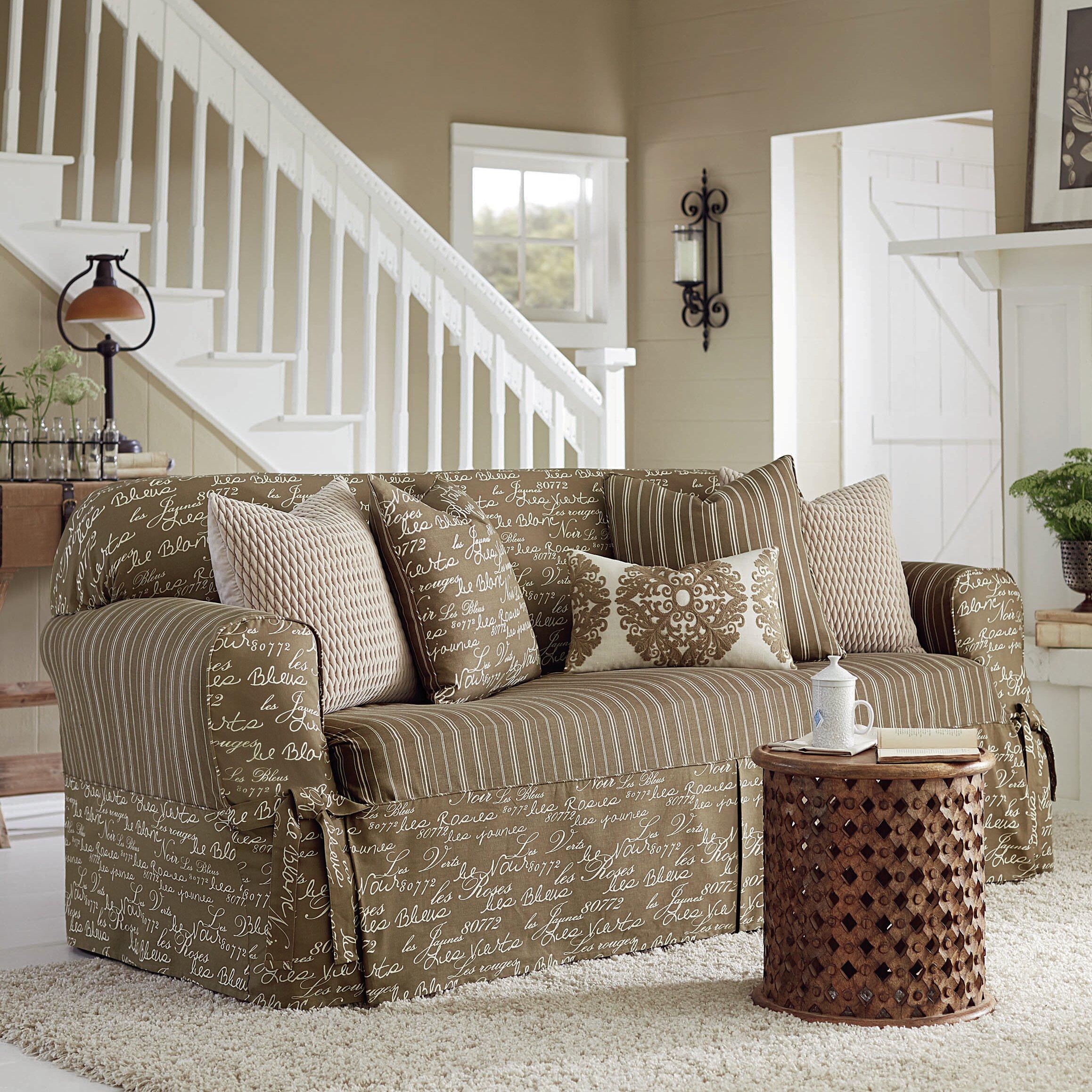 Sure Fit Vintage Sofa Slipcover & Reviews
