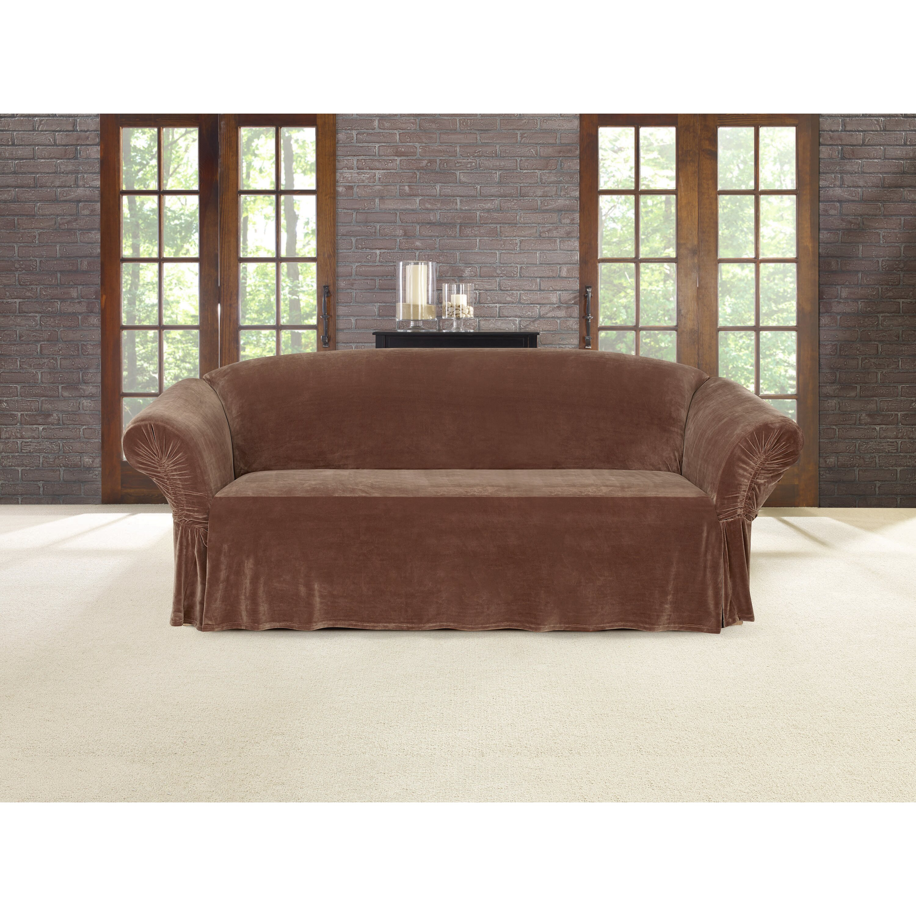 Sure Fit Sofa Skirted Slipcover