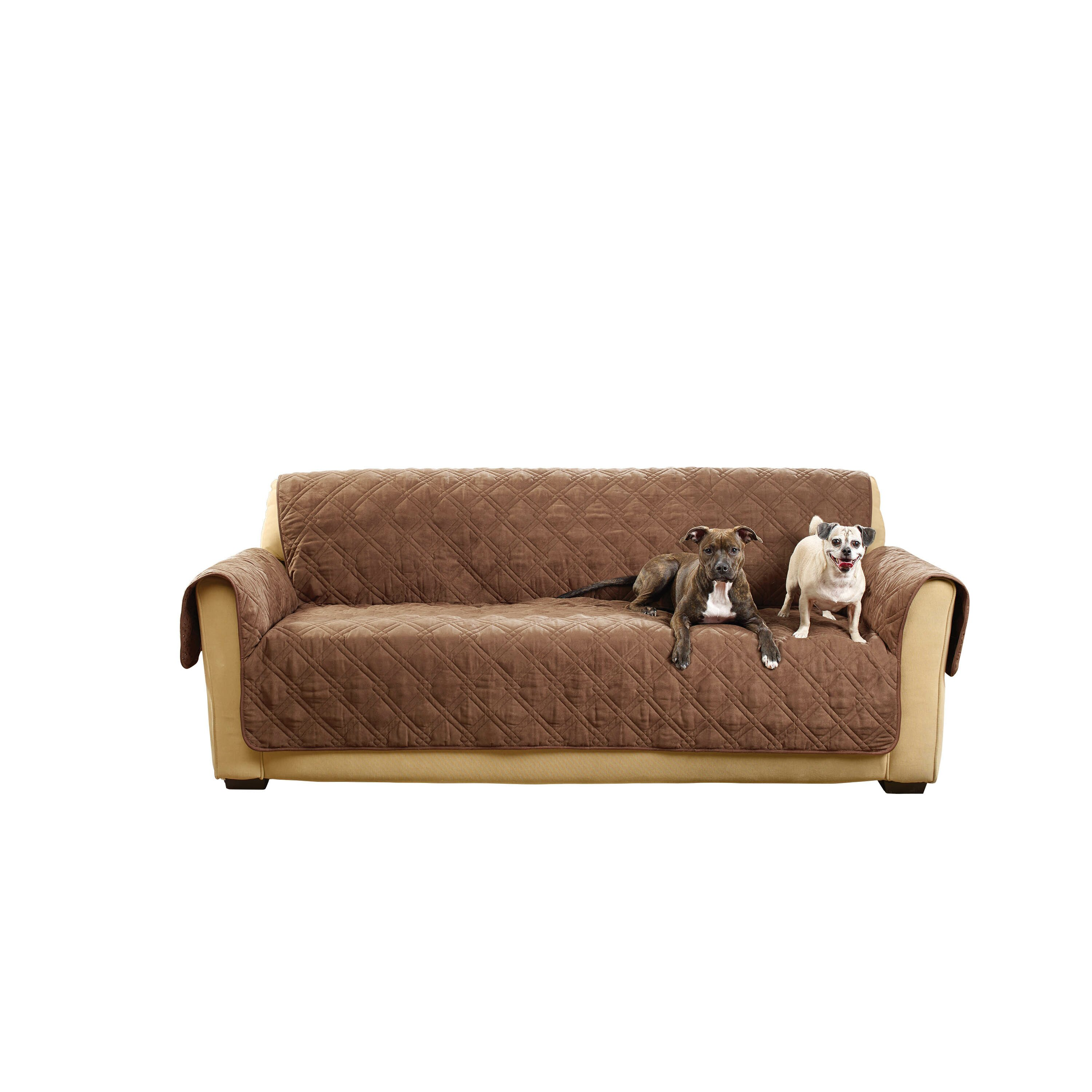 Sure Fit Deluxe Sofa Slipcover & Reviews