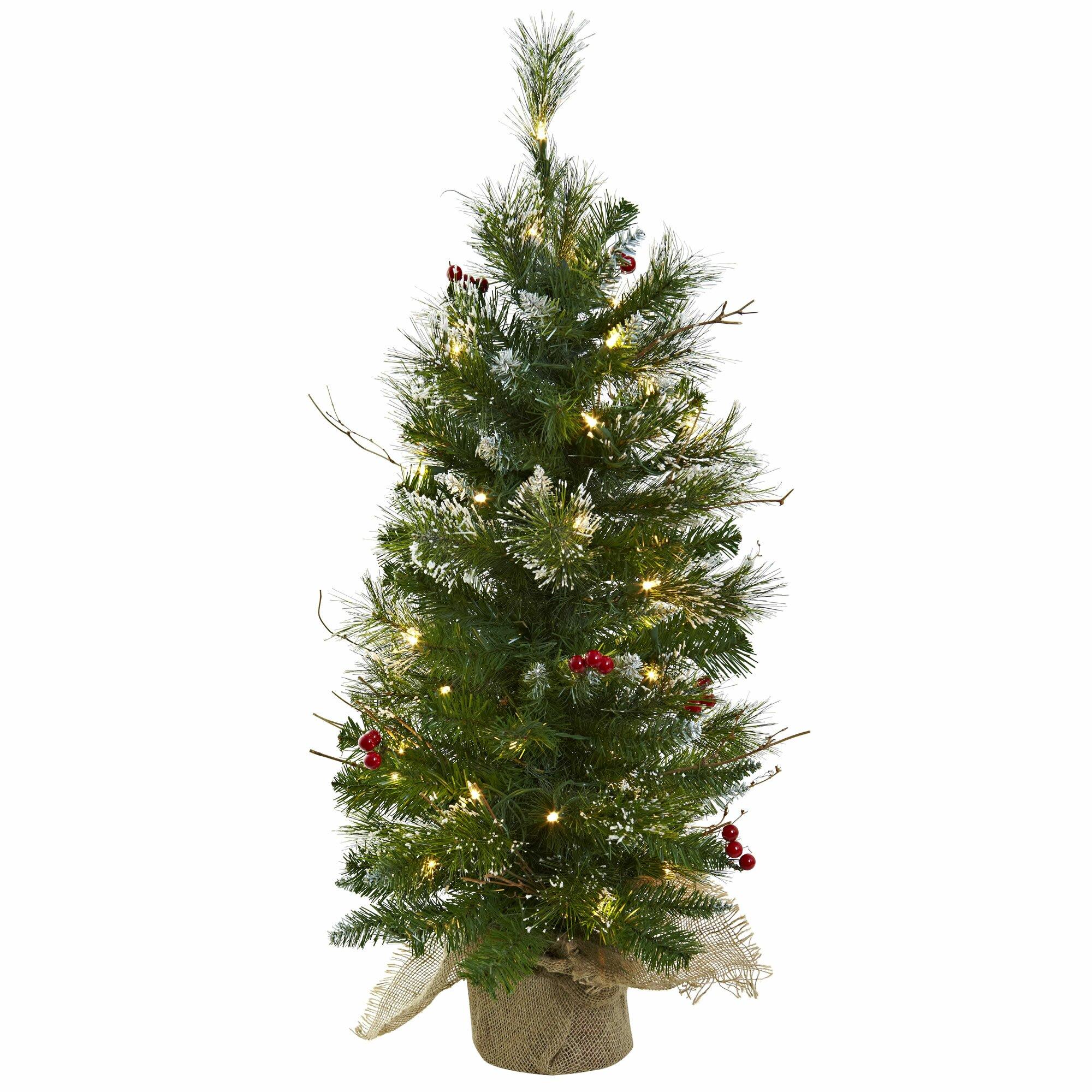 Slender Christmas Trees Pre Lit