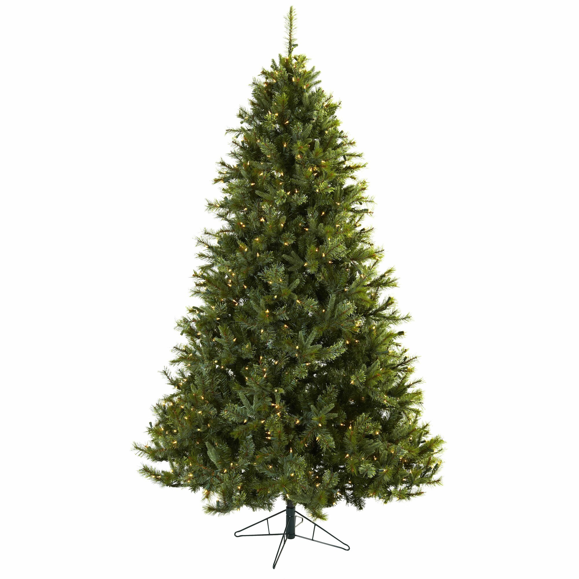Artificial Christmas Tree Sale Home Depot: Nearly Natural Nearly Natural 7.5' Green Majestic Multi