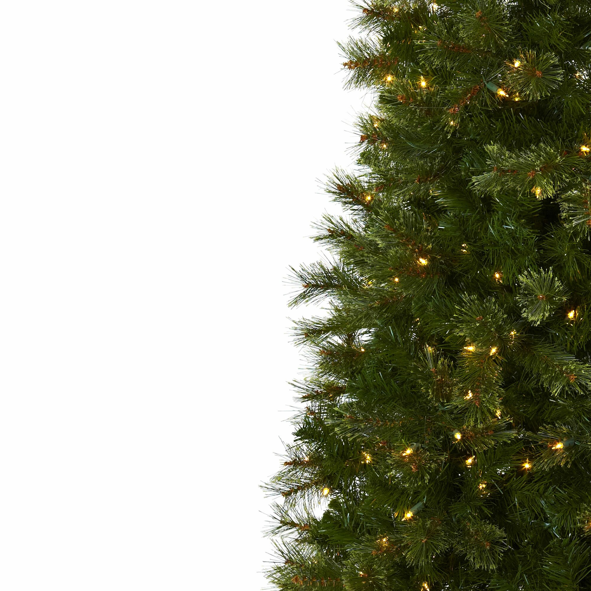 Next Slim Christmas Tree: Nearly Natural Nearly Natural 7.5' Green Cashmere Slim