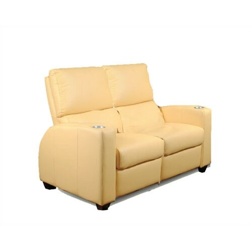 Bass deco penthouse home theater loveseat wayfair Loveseat theater seating