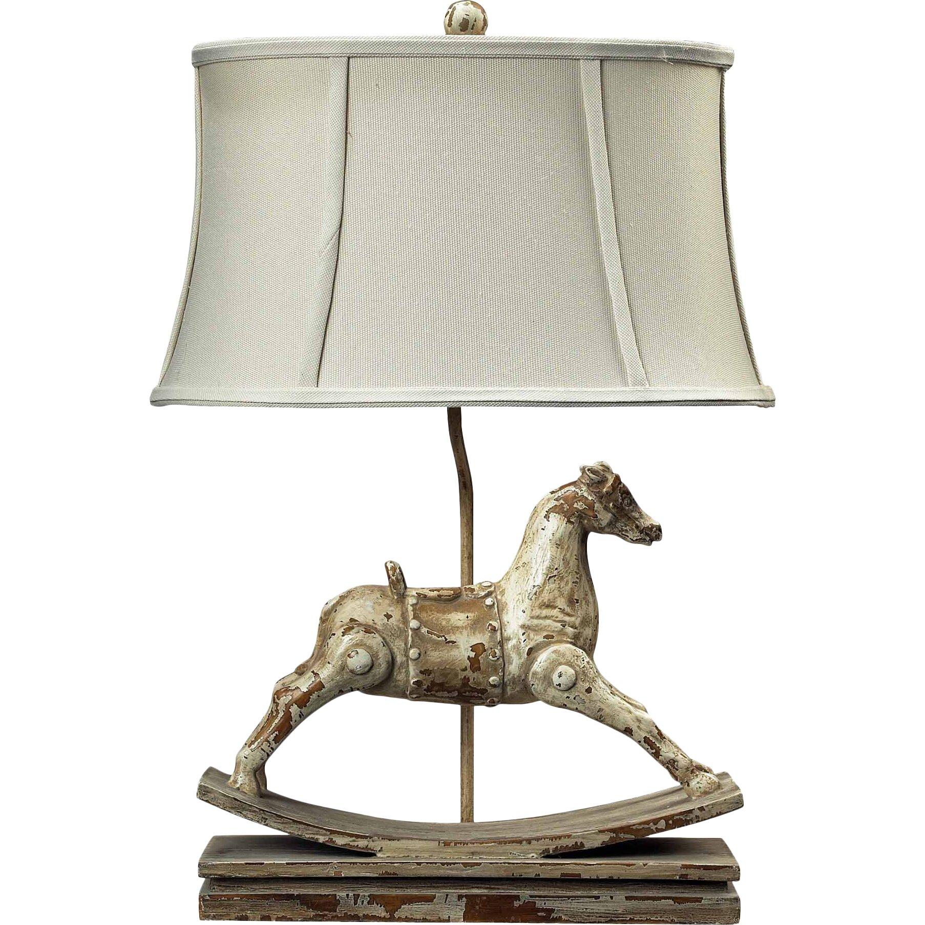 industries carnavale rocking horse 24 table lamp reviews wa. Black Bedroom Furniture Sets. Home Design Ideas