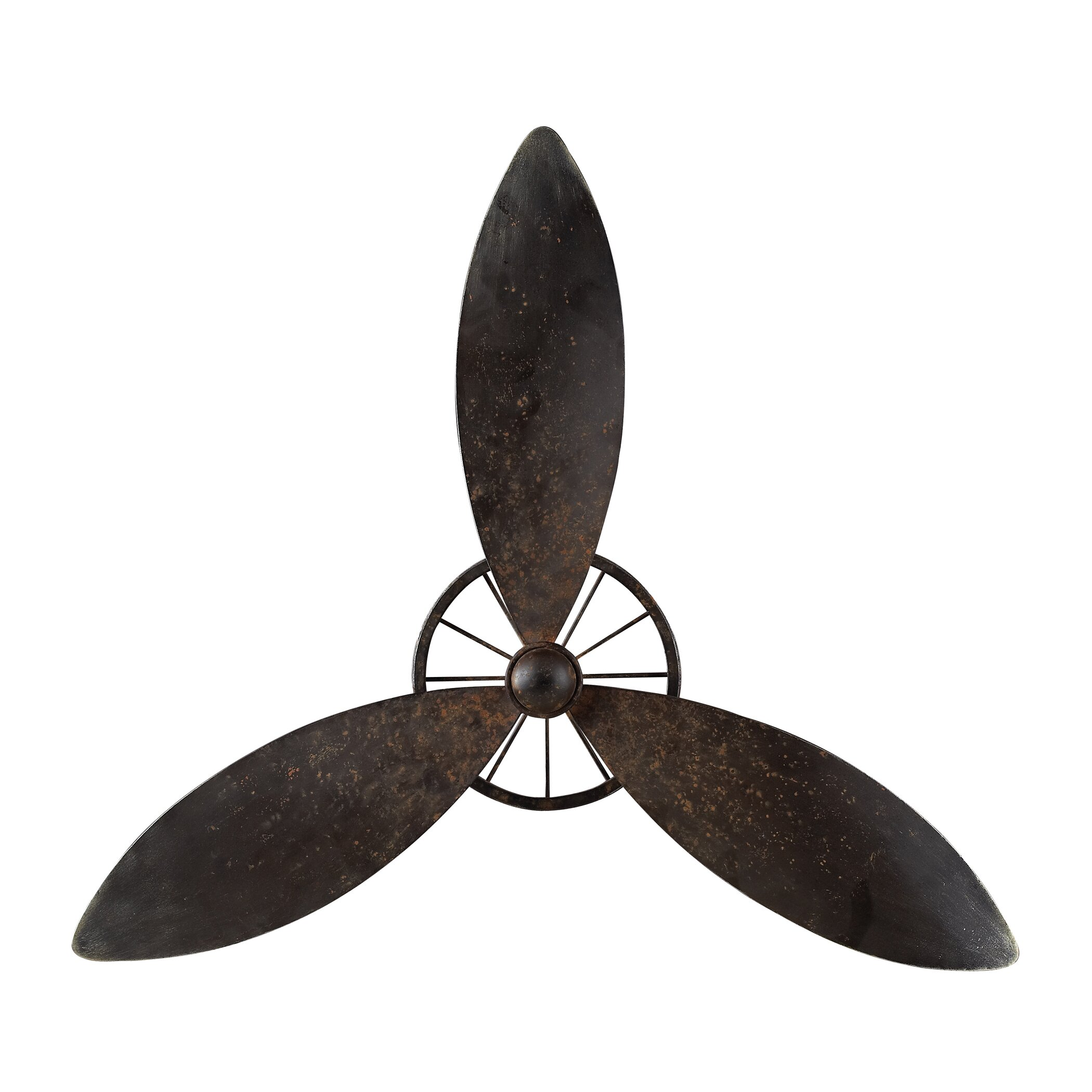 Sterling Industries Industrial Fan Blade Wall D Cor
